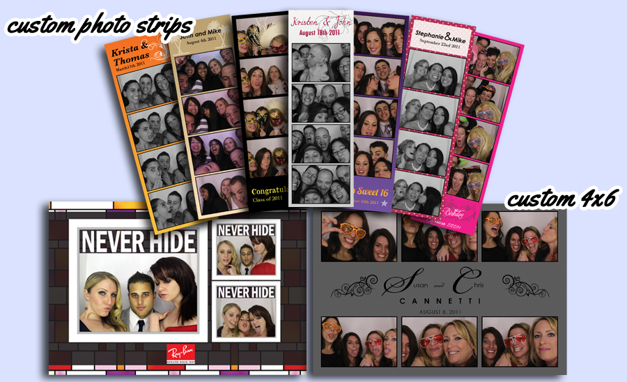Amazing Photo Booth Strips